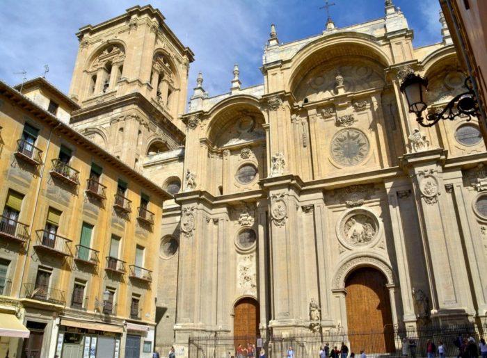 Plaza de la catedral de Granada
