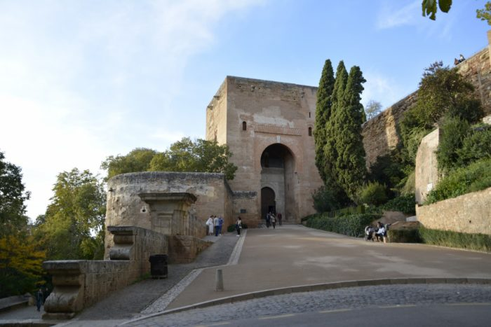 Puerta de la Justicia para entrar a la Alhambra