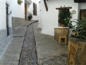 Las calles con encanto en Pampaneira