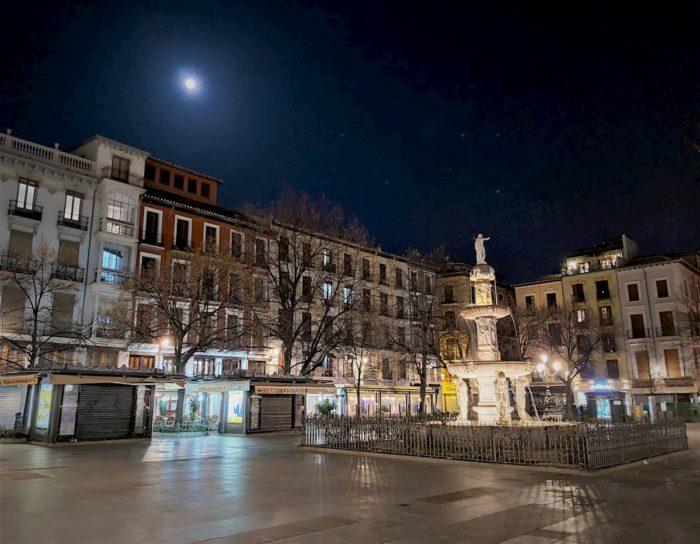 La Inquisición de Granada en la Plaza Bib Rambla
