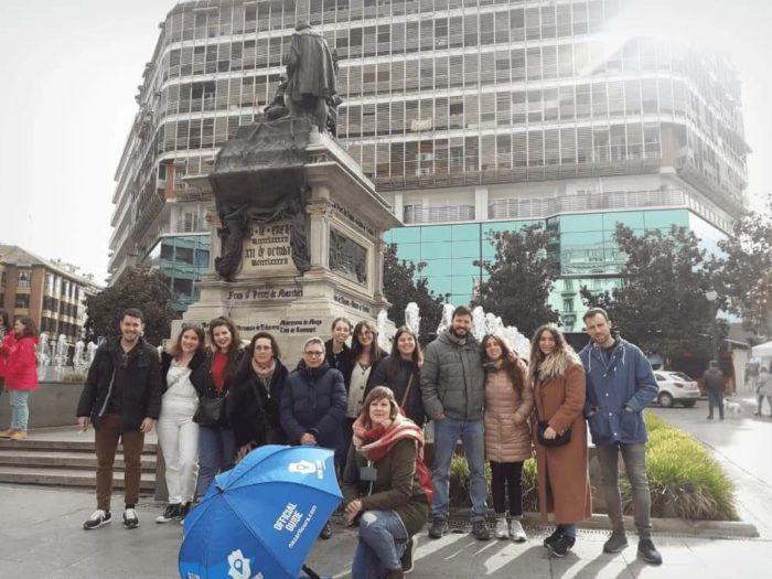 Visita guiada en Granada junto a Plaza Isabel la Católica